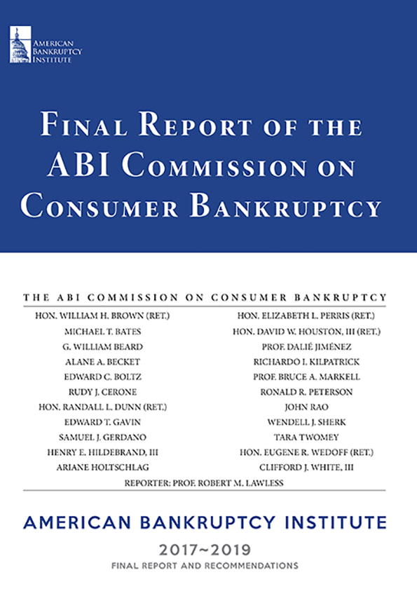 Final Report of the ABI Commission on Consumer Bankruptcy