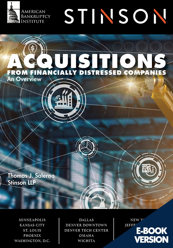 Acquisitions from Financially Distressed Companies: An Overview