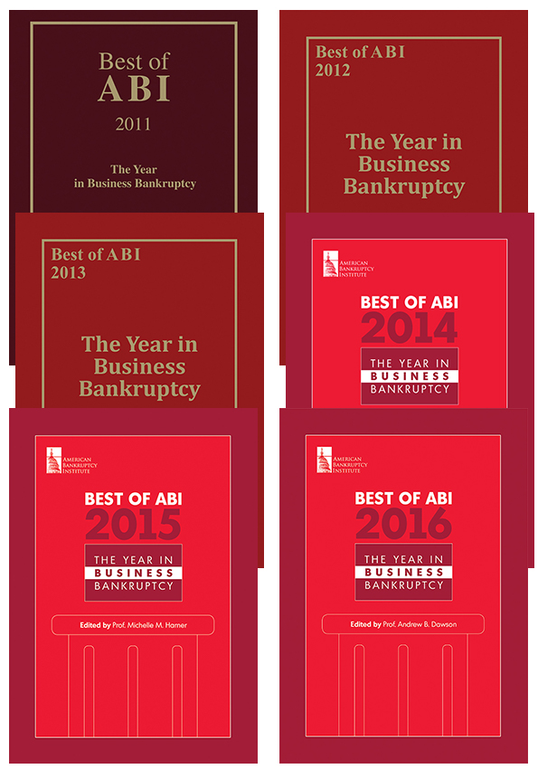 Best of ABI: The Year in Business Bankruptcy 2011-2016