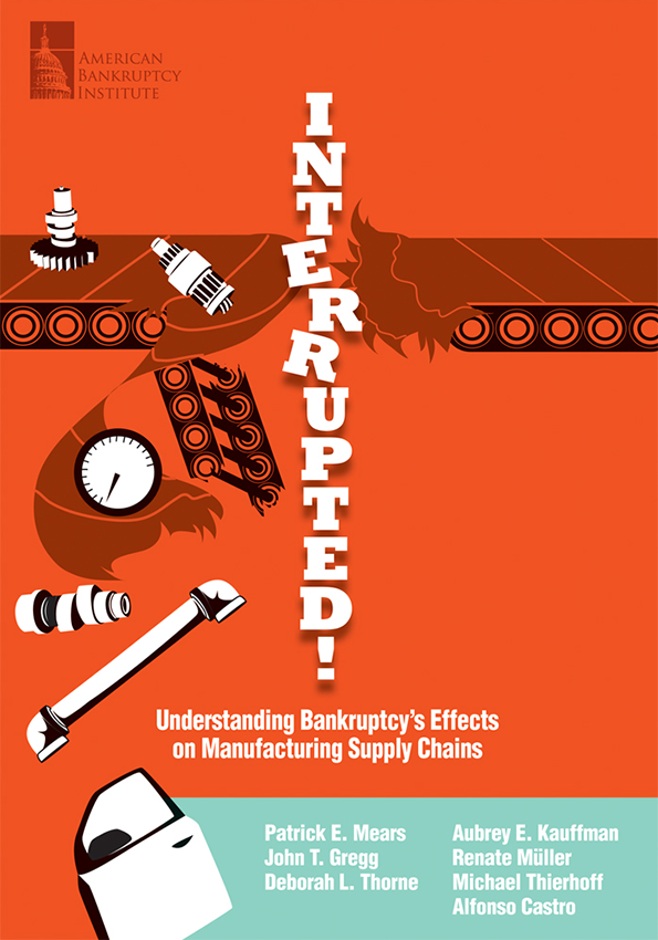 Interrupted! Understanding Bankruptcy's Effects on Manufacturing Supply Chains